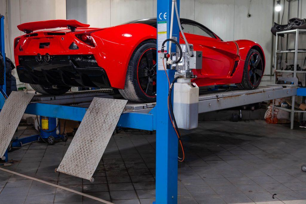 Where can I find Ferrari Repair Davie FL?